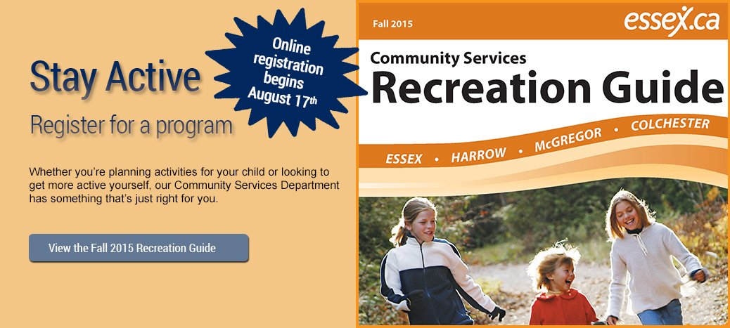 Fall 2015 Rec Guide Banner