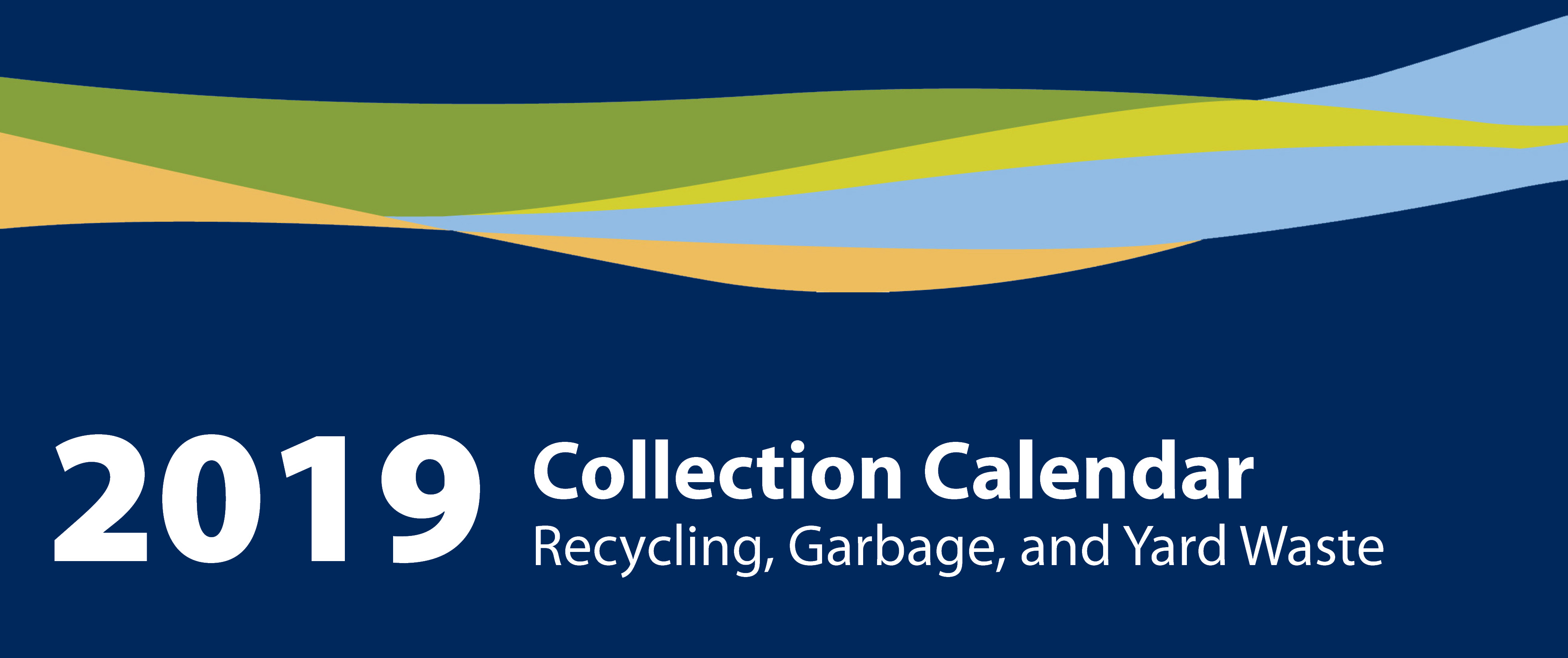 Collection Calendar Banner