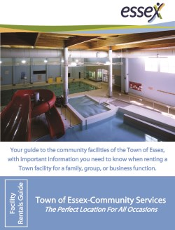 Cover of Facility Rental Guide with swimming pool