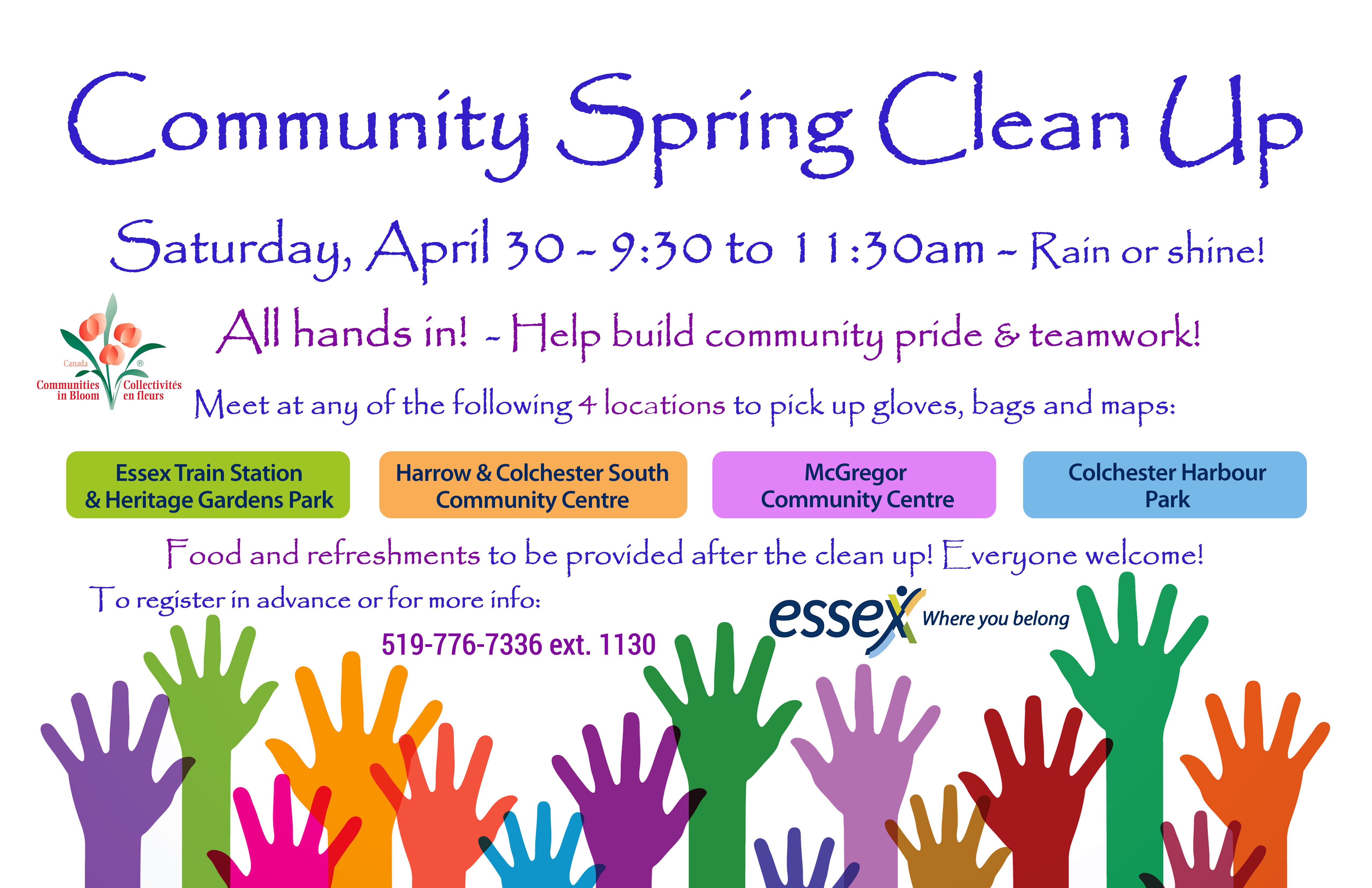 Spring Clean Up Poster