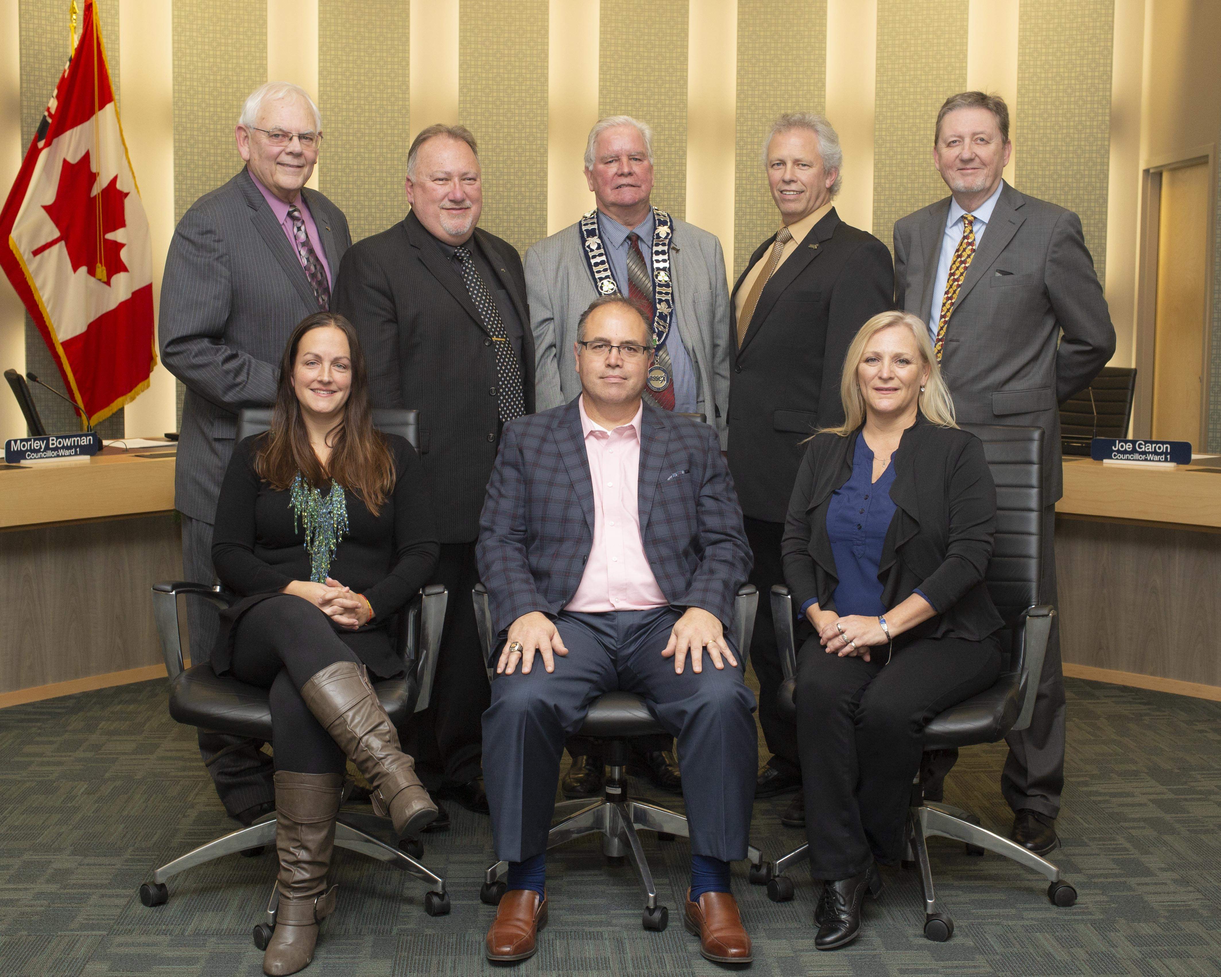 Group photo of Town of Essex Council